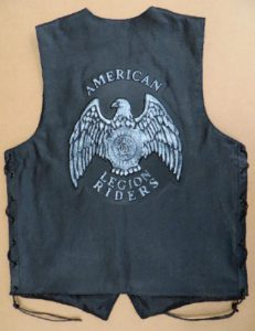 w58 Laced Embossed Leather Vest